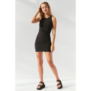 Urban Outfitters Ponte Side Stripe Bodycon Dress